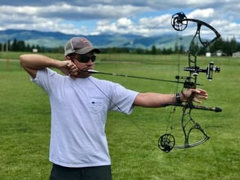 transfering compound bow