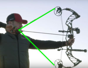 difference between a compound hunting bow and target bow